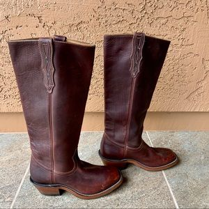 Boulet Western Wear Leather Boots